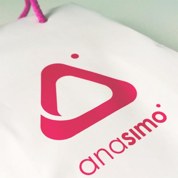 Bolsas de papel plastificado Ana Simó