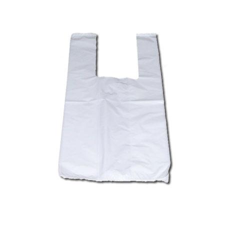 Paquete de bolsas de plástico asa camiseta