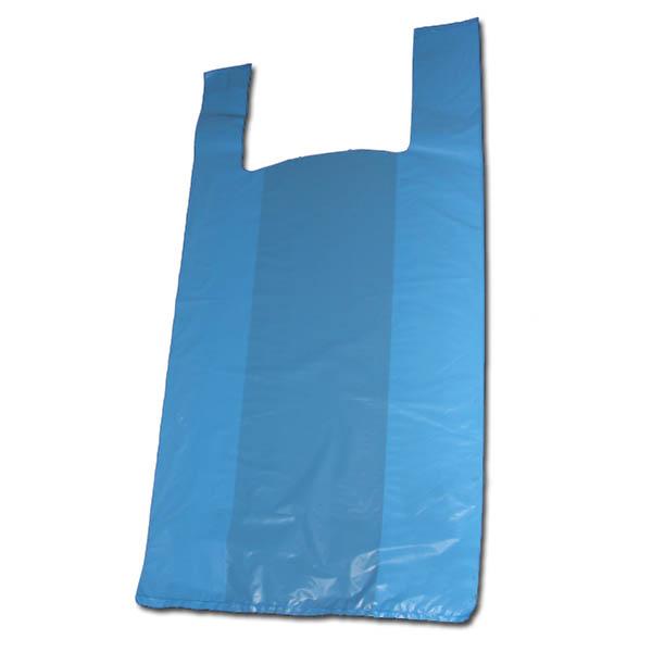 8373a4fe6 Bolsas tipo camiseta 40 x 50 cm azules – Iberbag