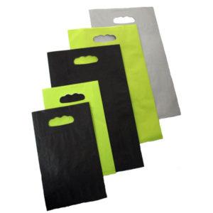 Bolsas de papel asa troquelada PRACTIK