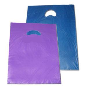 Bolsa de plástico asa troquelada 40 x 50 cm
