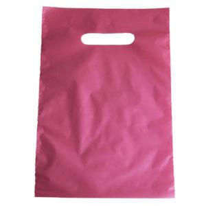 Bolsa de plástico asa troquelada 20 x 30 cm