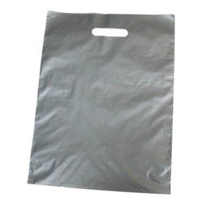 Bolsa de plástico asa troquelada 30 x 40 cm