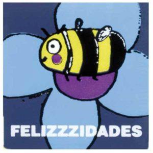 """Etiqueta """"FELIZZZIDADES"""""""