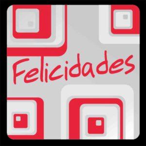 Etiqueta REGALO «CUADRADOS»