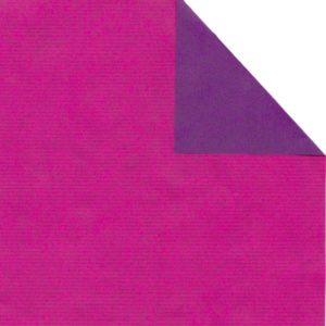 Bobina papel bicolor FUCSIA/VIOLETA