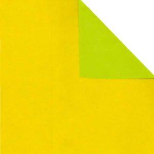 Bobina papel bicolor AMARILLO/VERDE