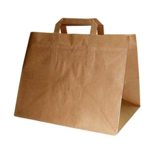 Bolsa de papel TAKE AWAY KRAFT