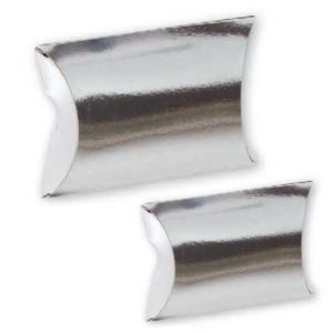 Estuches metalizados PLATA