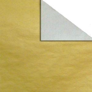 Bobina papel bicolor ORO/PLATA