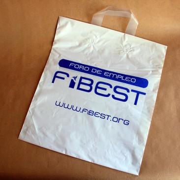 Bolsa de plástico con asa lazo FIBEST