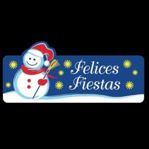 """Etiqueta """"F. FIESTAS MUÑECO COLOR"""""""