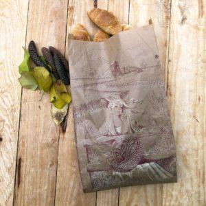 Bolsa de papel kraft panadería MOLINERA