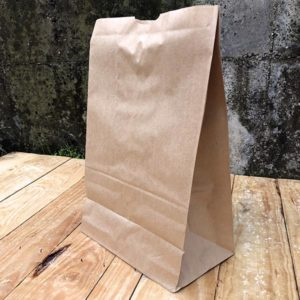 Bolsa kraft sin asa TAKE AWAY grande