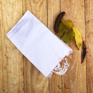 Bolsas de papel sin asa BLANCA