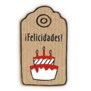 Etiqueta «FELICIDADES TARTA»