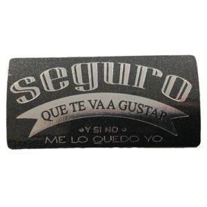 Etiqueta «SEGURO TE VA A GUSTAR»