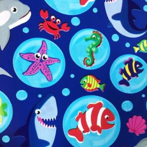 Bobina papel regalo BLUE SEA